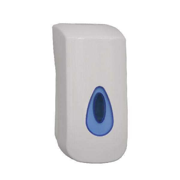 2work white bulk fill hand soap dispenser kddbc32