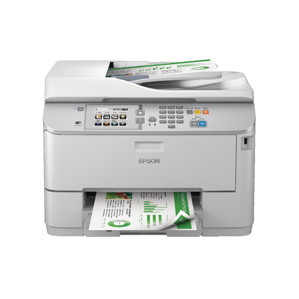 Epson Grey WorkForce Pro WF-5620DWF 4-in-1 Colour Inkjet Printer C11CD08301BY
