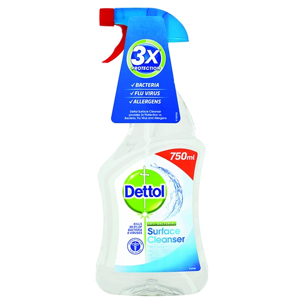 Dettol Anti-Bacterial Surface Cleanser Spray 750ml 3003911