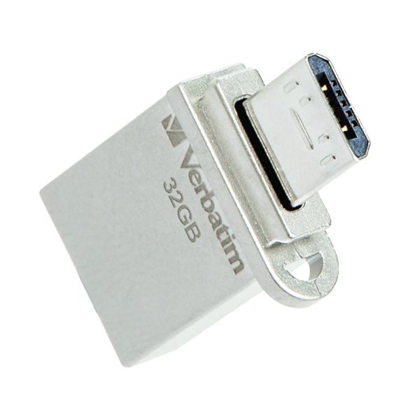 VERBATIM Store'n'Go OTG Micro USB 3.0 Drive 32GB Android Smartphone/Tablet Dual USB